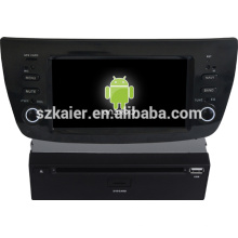 Android 4.1 capacitiva tela carro multimídia para Fiat Doblo com GPS / Bluetooth / TV / 3G / WIFI