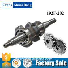 Vendor Hot Sale Top Gasoline Engine And Diesel Engine Commonly Used Crankshaft 192F