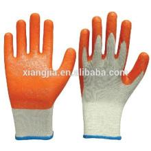Guantes de trabajo de seguridad laminado con palma de goma de calidad superior