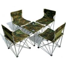 Outdoor Sporting Camping Beach Lightweight Folding Fishing Chair Set