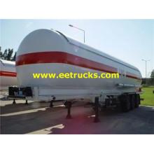 50000 liter 25ton LPG Semitrailer Tankar
