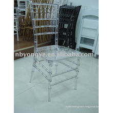 Прозрачный стул из смолы chiavari