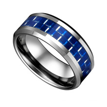 Tungsten Carbide Wedding Band Polished Finish and Rounded Inside Edge for Comfortable Wear