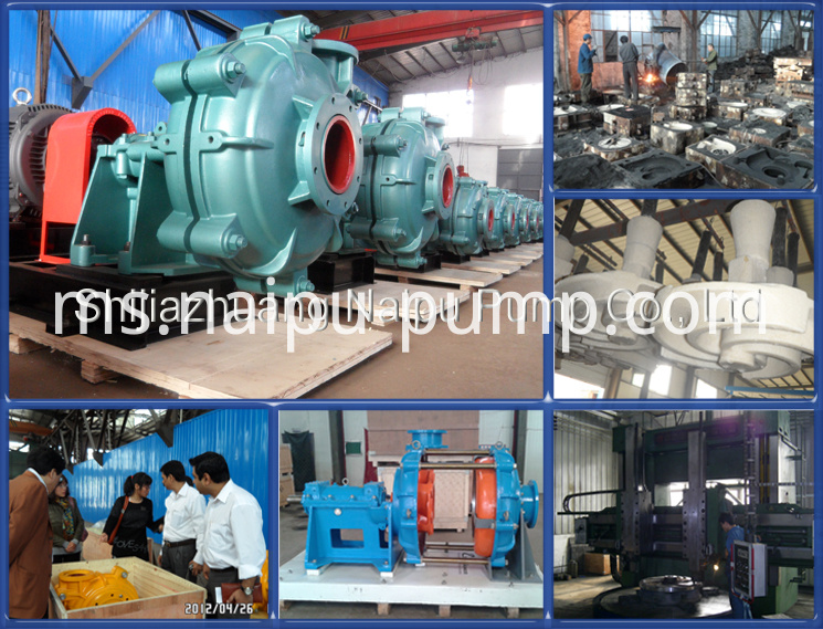 Slurry Pump Factory