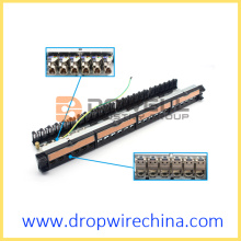 Legrand LCS2 24 Anschlüsse Cat.6A FTP Patch Panel