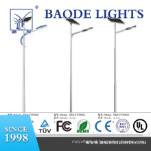 Luz da estrada do diodo emissor de luz de 8m / 80W único braço Pólo Soalr (BDTY880S)