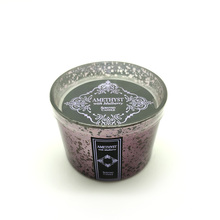 Oem Branded Candles Gift Set Small Round Scented Scented Soy Candle