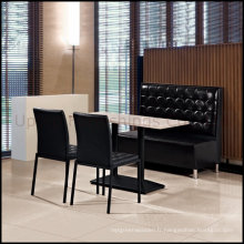 Ensemble de meubles de restaurant - Table à manger, chaise et cabine Banquette (SP-CT508)