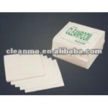 Tissu de nettoyage de polyester de salle blanche