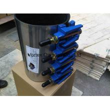 Ss304 Collier de réparation avec cosses d'acier en fonte