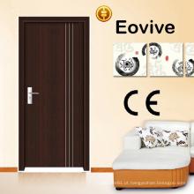 Portas de madeira interiores de design moderno para hotel