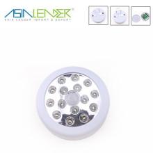 New 15 led round shape indoor motion sensor light