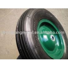 roue pneumatique en caoutchouc