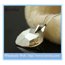 Alibaba china large crystal gemstone pendant