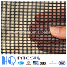 black wire crimped mesh