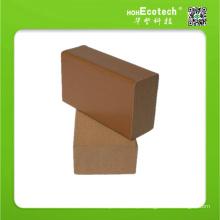 Acessórios de revestimento de plástico composto de madeira