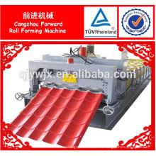 automático utilizado azulejo esmaltado rodillo que forma la máquina