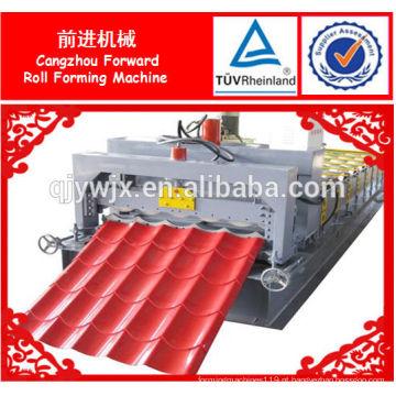 máquina de prensagem de telha vitrificada automática usada