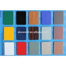 Paneles compuestos de aluminio con aislamiento de aluminio PVDF de alta calidad 2M de ancho