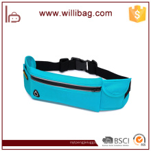 Korean Leisure Outdoor Running Belt Bag With Earphone Hole Waist Bag
