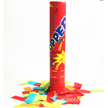30cm Κόκκινο Design No-Firework Party Popper