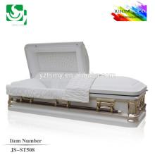 wholeslae velvet lining American cheap metal casket