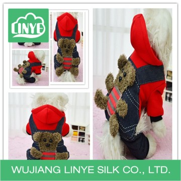 Warm lovely dog clothes