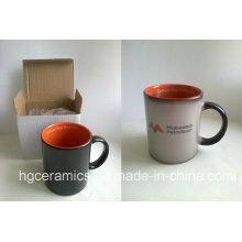 Color Change Canecas de café, canecas de alta qualidade Temperature Sensitive Color Chang canecas