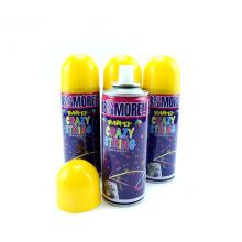 Color respetuoso del medio ambiente cadena tonto Spray Party Crazy String