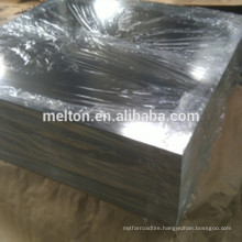 Tinplate printed tinplate for paint cans making with welding margin