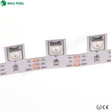 Luz de tira digital endereçável do diodo emissor de luz do pixel do projeto 3535 RGB do projeto especial flexível do PWB