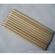 Alta qualidade reciclado lápis de cor de madeira para desenho