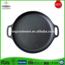 Round Pre-seasoned Cast Iron Griddle