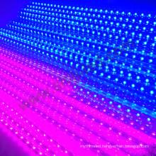 16pixels 64leds 3d led tube falling star dmx smd5050 rgb 3d led meteor light