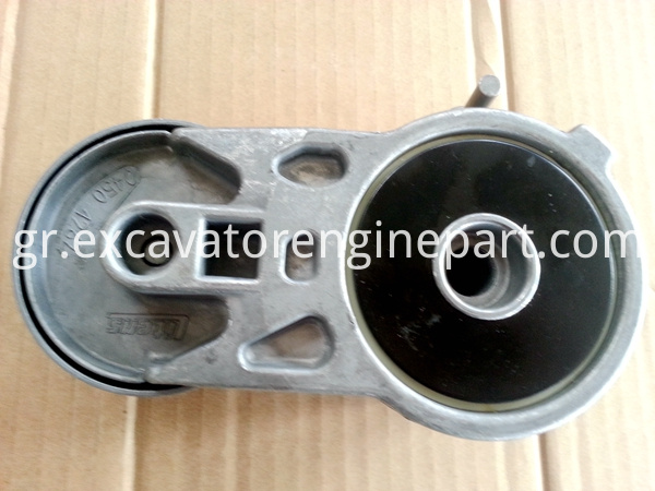Excavator spare parts engine belt pulley 21411884 04283663 0428387 04214490 20929227 04504262 belt tensioner EC210 EC240 EC290