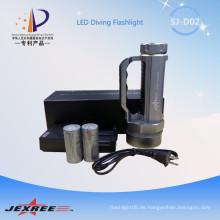 Jexree taktische 4000 Lumen XM-L2 mächtigste Taschenlampe mit Lenker verwendet 2 * 26650 Akku