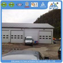 Garage commercial à usage professionnel spécialisé dans la structure en acier