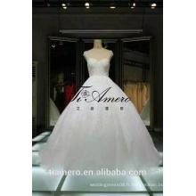 1A088 Tiamero dernière conception en Chine Made Made Beaded Ball Gown Robe de mariée