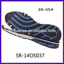 SR-140S037 (9030) O tamanho novo dos homens suavemente soft eva phylon sole