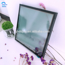Grey coloured Insulated Toughened Safety Glass , Flat Tempered Glass made in China