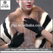 Atacado de baixo preço de alta qualidade luvas de couro resistentes ao calor