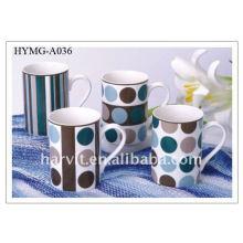 Vente en gros Tasse à café en porcelaine / Tasse en céramique Cug / Factory Tasses de lait en céramique