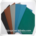 Tapis de sol antistatiques / ESD en caoutchouc coloré durable