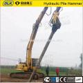 Máquina de conductor de pila de excavadora Martillo de pila vibratoria hidráulico de SK360