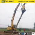 Excavator Pile driver machine SK360 Hydraulic Vibratory Pile hammer