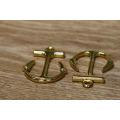 Ocidental popular novo projetado ouro âncora pingente para pulseira
