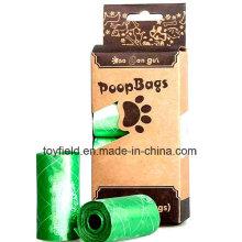 Haustier Abfallbeutel Wasserdichte Hund Poop Bag