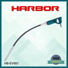 Hb-EV001 Puerto 2016 Vibrador de hormigón de hormigón vendido caliente del eje del vibrador de la mano
