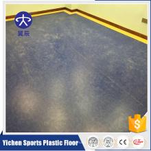 Assoalho antibacteriano comercial do PVC da alameda de Shoping do estilo original de YICHEN