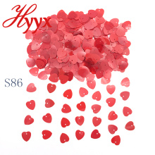 HYYX Best Sale Made In China bridal heart table confetti